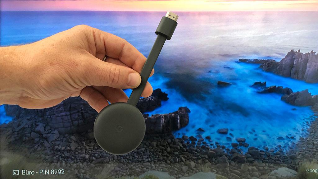 Google Chromecast im Test©COMPUTER BILD