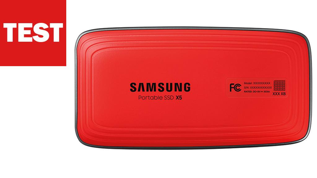 Samsung X5 Test©Samsung