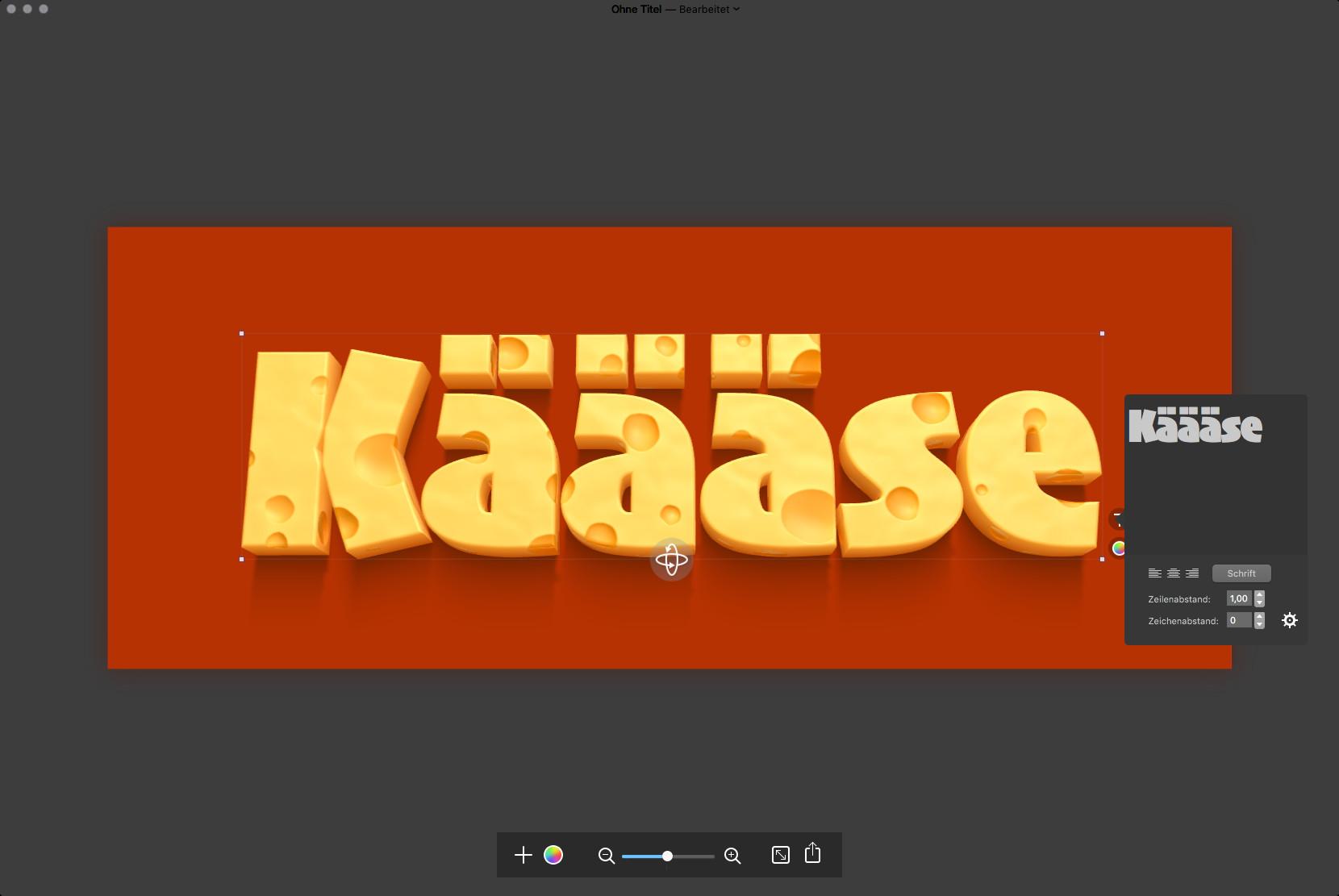 Screenshot 1 - Letters (Mac)
