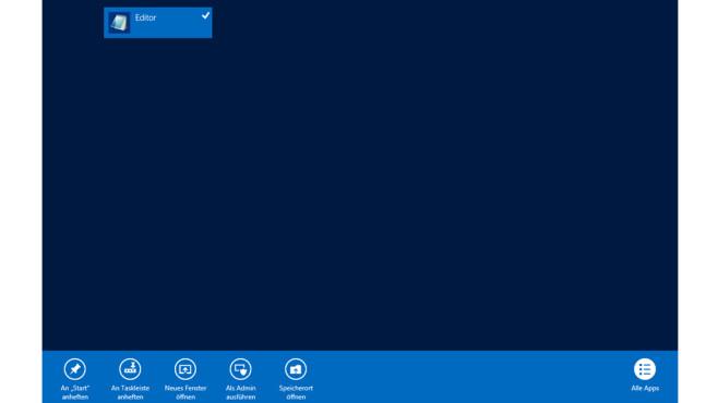 Windows 10: Startmenü-Kontextmenü ohne Rechtsklick nutzen©COMPUTER BILD