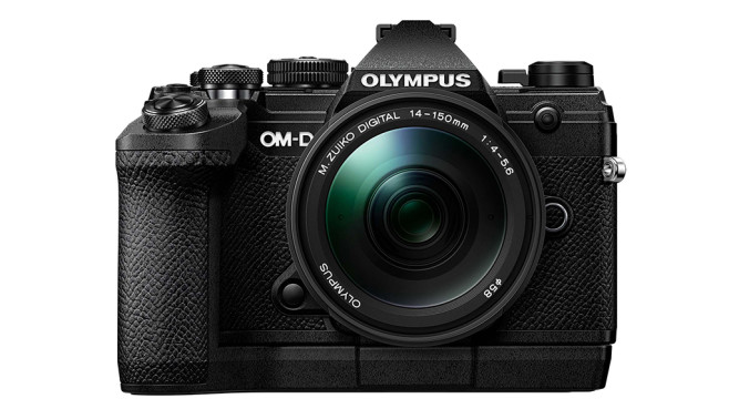Olympus OM-D E-M5 Mark III mit Griff ECG-5©Olympus