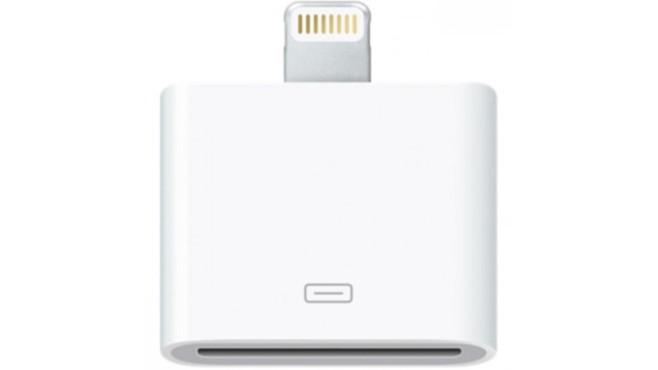 """Apple nimmt Adapter aus dem Sortiment: Jetzt noch schnell zuschlagen! Wird ausgemustert: der Apple-Adapter """"Lightning auf 30-polig"""".©Apple"""