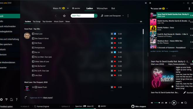 """Audials One 2019: Neue Streaming-Recorder-Software veröffentlicht Der Streaming-Recorder """"Audials One 2019"""" ist ab sofort erhältlich.©Audials"""