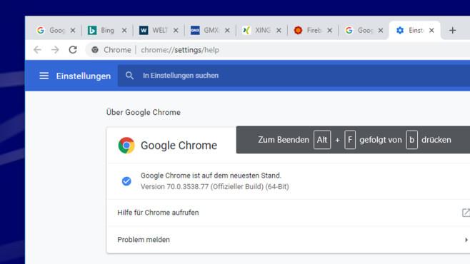 Firefox und Chrome: Die gefährlichste Tastenkombination – es droht Datenverlust!©COMPUTER BILD