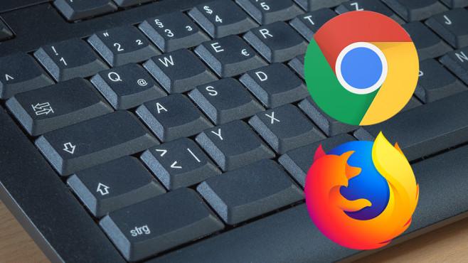 Firefox und Chrome: Die gefährlichste Tastenkombination – es droht Datenverlust!©iStock.com/Mlyons, Firefox, Chrome