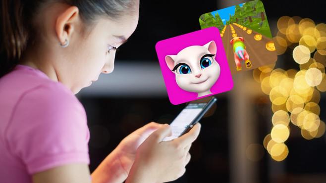 Spiele-Apps für Kinder mit hohen In-App-Käufen©iStock.com/diego_cervo