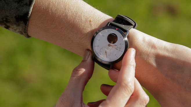 Withings Steel HR Sport in Bildern © COMPUTER BILD