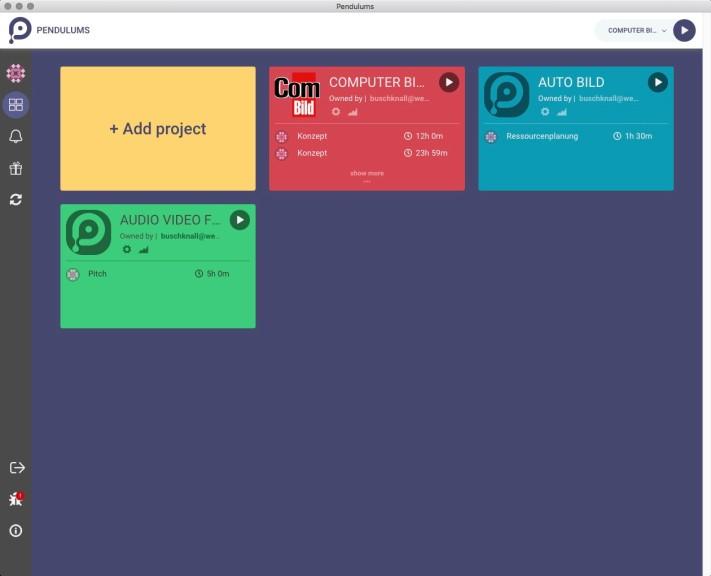 Screenshot 1 - Pendulums (Mac)