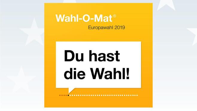Wahl-O-Mat: Die Wahlhilfe für die Europawahl 2019©Bundeszentrale für politische Bildung
