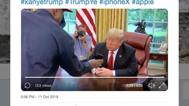 Kanye West und Donald Trump©Twitter.com