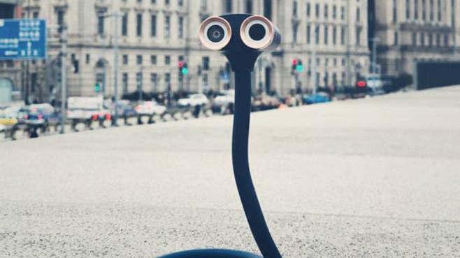 Oppy: Diese verrückte Action-Cam macht einen auf Wall-E! Die Action-Cam Oppy erinnert optisch an den©Oppy