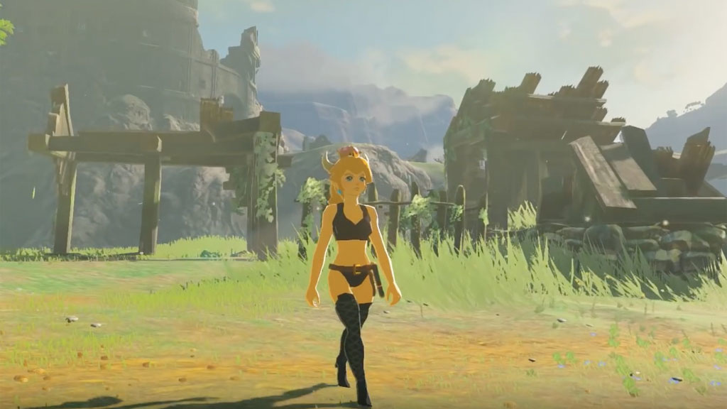 Zelda – Breath of the Wild: Mod bringt Bowsette ins Spiel