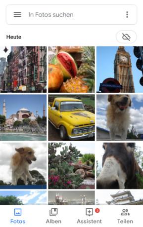 Google Fotos (Android-App)