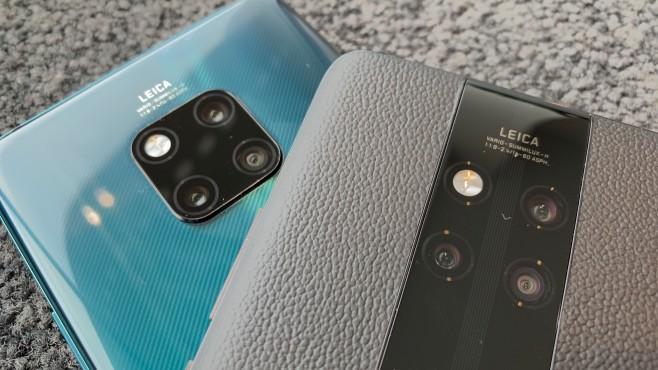 Porsche Design Huawei Mate 20 RS und Mate 20 Pro: Dreifach-Kameras©COMPUTER BILD