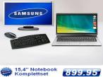 Plus bietet ein Laptop-Set für 899,95 Euro an.