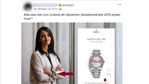 Facebook-Post sorgt für Shitstorm © Screenshot/Facebook