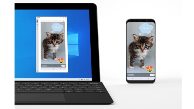 SreenMirroring: Android-Apps auf den Windows-PC spiegeln © COMPUTERBILD, Microsoft