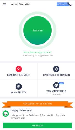 Avast Mobile Antivirus & Virenschutz (Android-App)