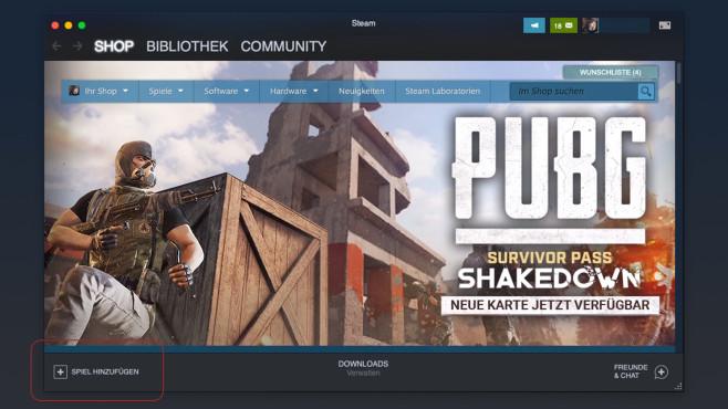 Steam: Fremdes Spiel hinzufügen©COMPUTER BILD