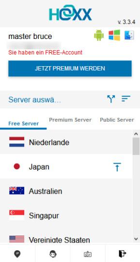Hoxx VPN Proxy für Firefox
