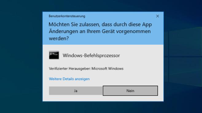 Batch-Skript (ohne Verknüpfung) Admin-Rechte geben ©COMPUTER BILD