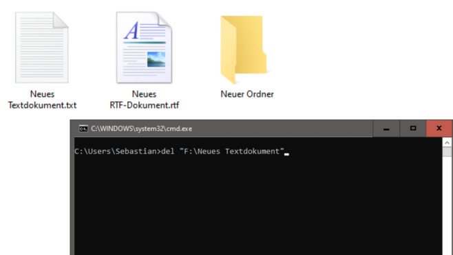 Dateien und Ordner löschen, umbenennen und verstecken ©COMPUTER BILD