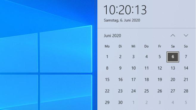 Datum und Uhrzeit ändern ©COMPUTER BILD
