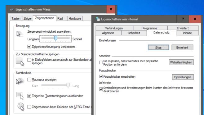 Fenster mit bestimmter Registerkarte öffnen ©COMPUTER BILD