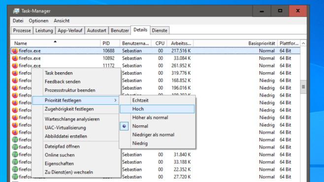 Firefox abhängig von seiner RAM-Präsenz optimieren ©COMPUTER BILD
