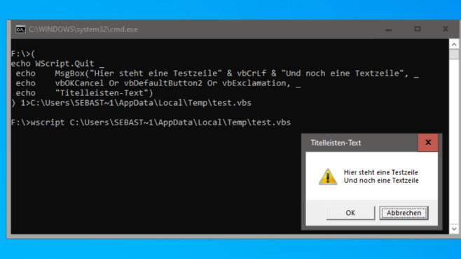 Pop-up-Fenster mit Auswahlmöglichkeiten generieren ©COMPUTER BILD