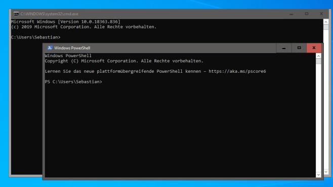 PowerShell-Befehle in der CMD ausführen ©COMPUTER BILD