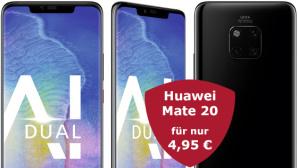 500 Euro Rabatt: Huawei Mate 20 mit LTE-Flat©Huawei