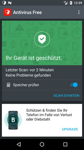 Bitdefender Antivirus Free (Android-App)