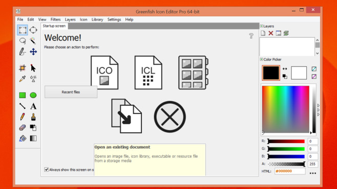 Greenfish Icon Editor Pro: Neue Programmsymbole gestalten ©COMPUTER BILD