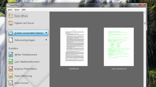 LibreOffice: Moderner OpenOffice-Nachfolger ©COMPUTER BILD