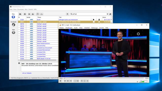 MediathekView: Verpasste TV-Sendungen sehen/aufzeichnen ©COMPUTER BILD