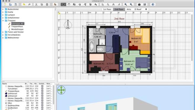 Sweet Home 3D: Virtuelles Zuhause einrichten ©COMPUTER BILD