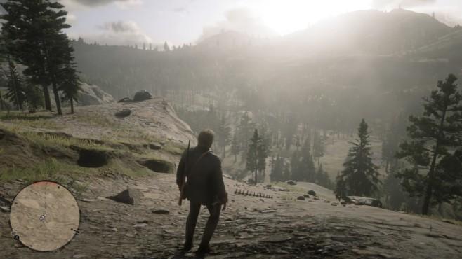 """Red Dead Redemption 2: Fundorte der Saurierknochen In der Welt von """"RDR 2"""" gibt es 30 Saurierknochen – jedoch gelangen Sie nach New Austin erst nach Beenden der Story.©Rockstar Games"""