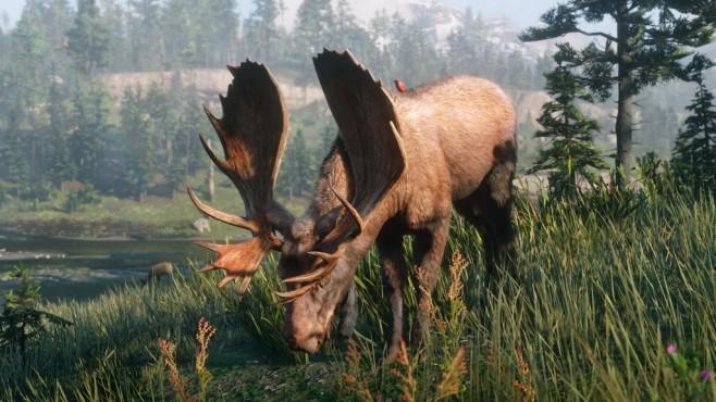"""Red Dead Redemption 2: Alle Tipps & Tricks Um die 100 Prozent in """"RDR 2"""" zu erreichen müssen Sie fünf legendäre Tiere erlegen und häuten.©Rockstar Games"""