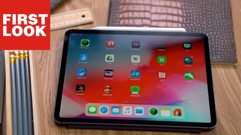 apple ipad pro 11 im test video design revolution. Black Bedroom Furniture Sets. Home Design Ideas