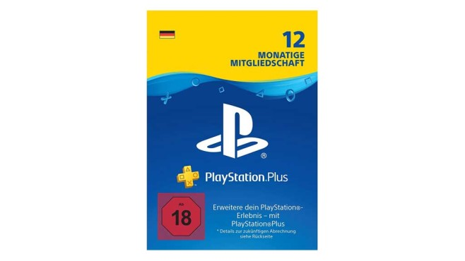 PlayStation Plus 12 Monate © Amazon