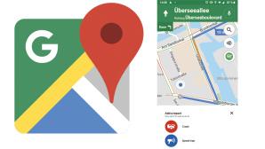 Google Maps mit Blitzer- und Unfallmeldung©Google, COMPUTER BILD