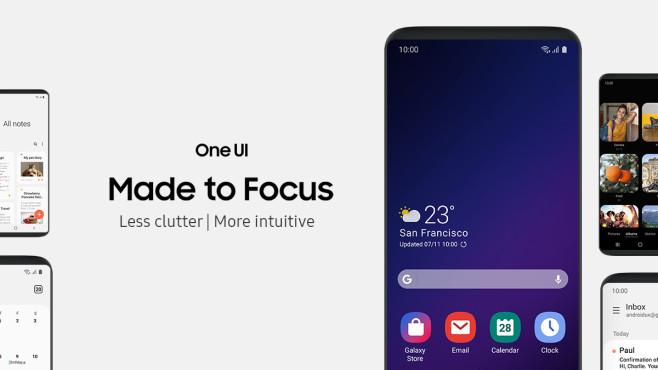 Samsung Zeigt One UI Für Android Pie: Die Beta Kommt