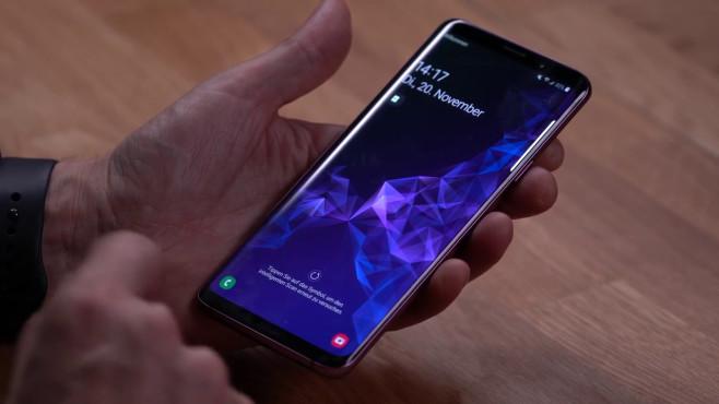Samsung One UI auf Galaxy S9©COMPUTER BILD