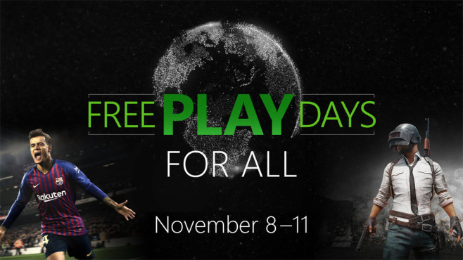 Xbox Live: Free Play Days © Microsoft