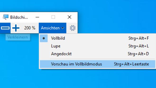 Windows-Eingabehilfen: Tipps zur erleichteren Bedienung Die Bildschirmlupe starten Sie mit Windows-R und magnify, intuitiver ist der Windows-Plus-Hotkey.©COMPUTER BILD