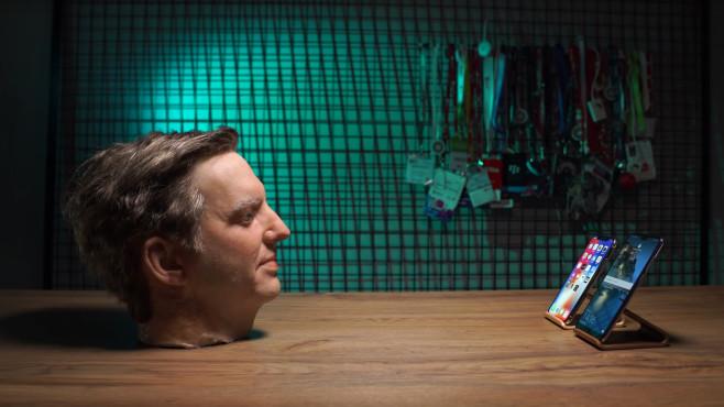Gummikopf vs. Face ID©COMPUTER BILD