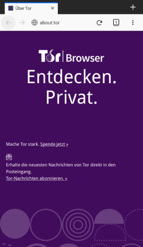 Tor Browser für Android