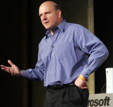 CeBIT 2008: Microsoft-Chef Ballmer hält Eröffnungsrede Steve Ballmer wird im kommenden Jahr bei der Eröffnung der Computermesse Cebit in Hannover eine Grundsatzrede halten.
