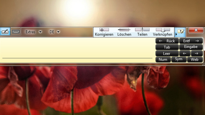 Windows 7: Tablet PC-Eingabebereich deaktivieren©COMPUTER BILD